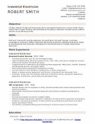 Sample Of Electrician Resumes Industrial Electrician Resume Samples Qwikresume