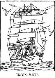 Vrachtschip Kleurplaat