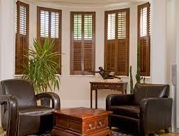 Beautiful Wood Interior Window Shutters