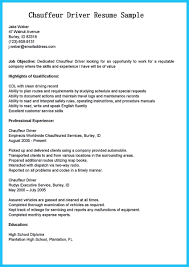 Chauffeur Job Description For Resume Awesome Stunning Bus Driver Resume To Gain The Serious Bus Driver 1