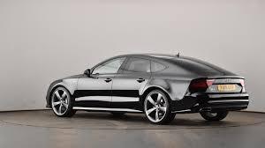 audi a7 2015 black. used audi a7 30 bitdi quattro 320 black edition 5dr tip auto ya15utt swindon audi 2015