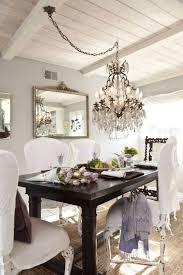 amazing chandelier height from table