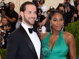 Serena Williams looked stunning in her ball gown wedding dress ...