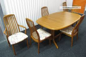 Danish Modern Dining Table Mid Century Modern Dining Chairs Fetching Rosewood Round Danish