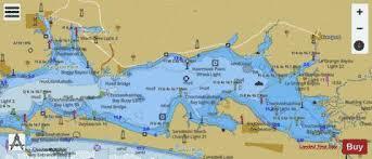 West Bay To Santa Rosa Sound Marine Chart Us11385_p135