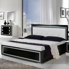 italian bed set furniture. Oscar - High Gloss Bedroom Set Black \u0026 White | On Sale Now! Italian Bed Furniture
