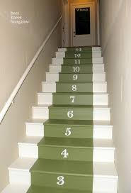 Best Images About Painted Stairs Ideas On Pinterest - Painted basement stairs