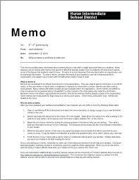 Example Of Office Memorandum Letter A Memo Template Wsopfreechips Co