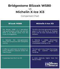 Difference Between Blizzak Ws80 And Michelin X Ice Xi3