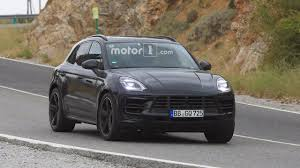 porsche macan restyling 2018. fine restyling 2018 porsche macan facelift spy photo and porsche macan restyling c