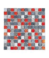 light dark grey red marble decor mosaic tile red mosaic tile red glass mosaic tiles kitchen