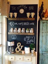 Beautiful Rustic Coffee Station Ideas
