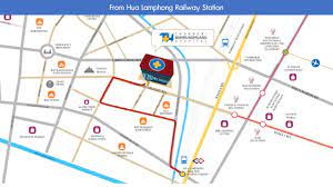 แผนที่เส้นทางโรงพยาบาลธนบุรีบำรุงเมือง - YouTube