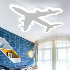 discount kids bedroom lighting fixtures ultra. Airplane Ceiling Light Ultra Thin Aircraft Acrylic Led For Living Room Children Bedroom Lighting Discount Kids Fixtures
