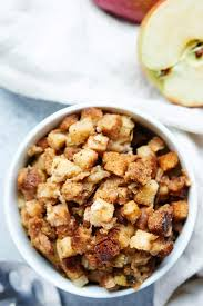this easy crockpot vegetarian stuffing recipe can be vegan only takes 15 minutes