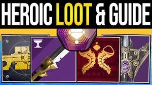 Destiny 2 How To Get All Heroic Rewards New Menagerie Swords Izanagi Catalyst Rare Ship Guide