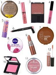 list with names best makeup s best makeup s