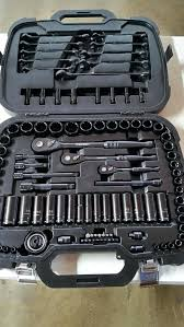 husky black chrome socket set tools chromium new machinery in garden grove ca pro