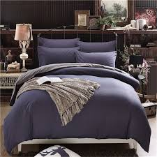 solid colour simple life bedding set polyester duvet cover flat sheet pillowcase comforter bed set twin