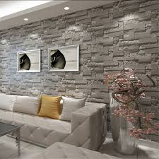 3d print grey brick stone wallpaper