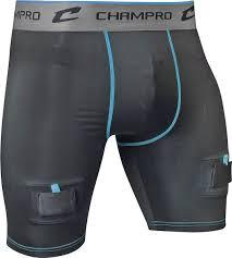 Champro Crease Compression Jock Hockey Shorts