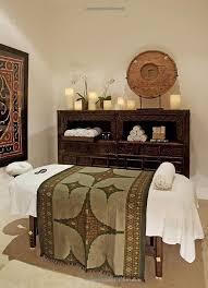 massage room decor spa treatment room