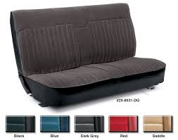 velour front bench seat reupholstery kits