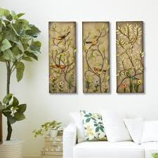 multicolored rectangular leaf metal work wall decor
