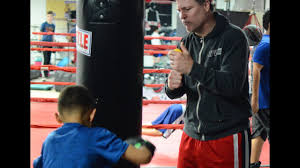 old boxing gym in agawam m weles their newest trainer iceman john scully