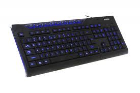 <b>Клавиатура A4Tech KD-800</b> L черн, синяя подсветка, 11 доп ...
