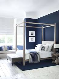 navy blue bedroom decorating ideas elegant wardley four poster bed in oak simple and elegant shakerstyle