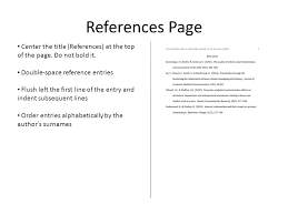 gallery of reference page template sop proposal how to make  how to create and apa style reference page ppt video for how to make references page 6 resume and reference page