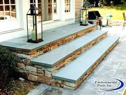incredible building stone patio steps installing