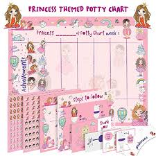 Potty Training Chart For Toddlers Princess Design