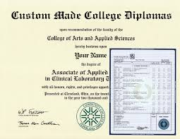Print Your Own Fake Diploma From Our Diploma Template Realistic