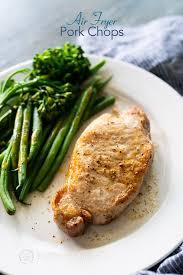 how to make air fryer pork chops juicy
