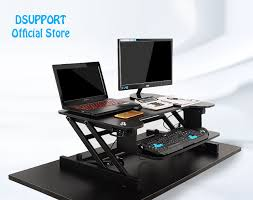 standing desk for laptop. Simple Desk EasyUp Height Adjustable Sit Stand Desk Riser Foldable Laptop  With Keyboard Tray Notebook Intended Standing For