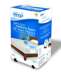 memory foam mattress topper box. Fine Box Sleep Innovations Gel Memory Foam Mattress Topper Inside Box