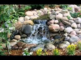 Small Picture Garden Ponds and Waterfalls Small Ponds and Waterfalls YouTube