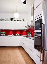 Red And White Kitchen Cabinets Fine On Regarding Best 25 Ideas Pinterest  Shaker 17