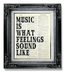 music wall quote music wall saying music wall art rock like this item rock art wall  on rock art wall hanging with 4 ideas for choosing art for outdoors studios ceramic wall art tile
