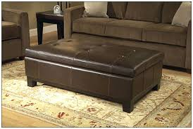 Inspiring Leather Coffee Table Ottoman Coffee Table Leather Coffee Tables  Interior Design Ideas