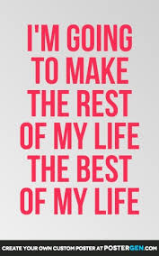 Life Quotes Posters Inspiration Best Of My Life Print Quote Posters Posters PosterGen