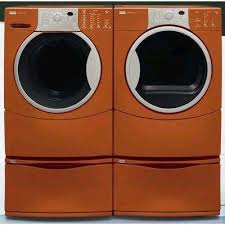 colored washer and dryer sets. Beautiful Dryer Sears Burnt Orange Washer U0026 Dryer And Colored Washer Dryer Sets L