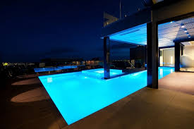 home swimming pools at night. Home Swimming Pools At Night World Of Architecture: Amazing Dream In Black And Blue