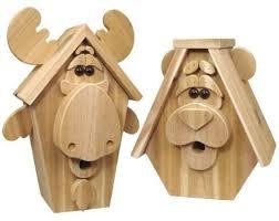 Wood Craft Patterns Gorgeous DIY Moose Bear Birdhouse Moose Bear Wood Craft Patterns