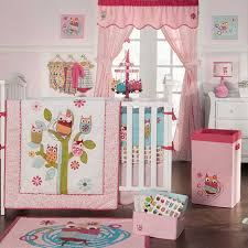 Baby Owl Crib Bedding in Pink 9 of 25