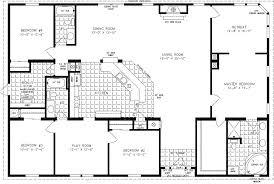 double wide floor plans 4 bedroom 3 bath.  Plans 4 Bedroom 3 Bath Floor Plans Modular Home Fresh Double  Wide For Double Wide Floor Plans Bedroom Bath S