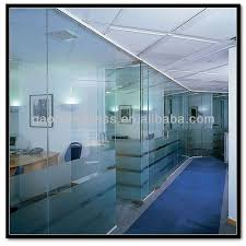 office glass frosting. modern office interior glass door frosting