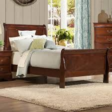 Sleigh Bed Bedroom Sets Woodhaven Hill Mayville Sleigh Customizable Bedroom Set Reviews